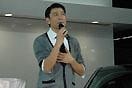 刘德华在讴歌展台
