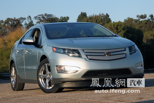 雪佛兰Volt电动车明年下线 2011年进入中国