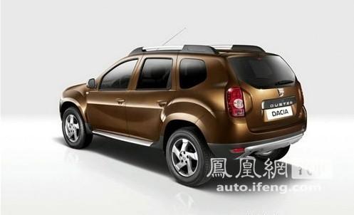 达契亚推出Duster经济型SUV 搭载1.5L柴油动力