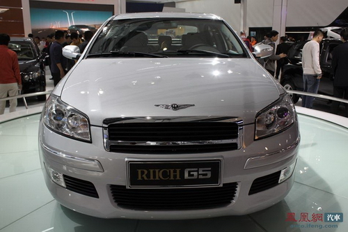 瑞麒G5正式上市 售价14.28-17.98万