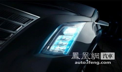 凯迪拉克XTS亮相北美车展 预计明年上市
