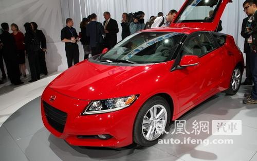 本田CR-Z量产版发布 三种动力模式