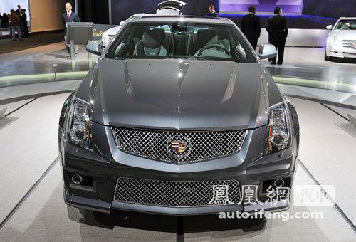 北美车展新车解析:凯迪拉克CTS-V Coupe轿跑