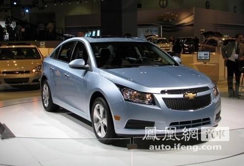 2011款科鲁兹实车亮相北美车展 售价约11万元