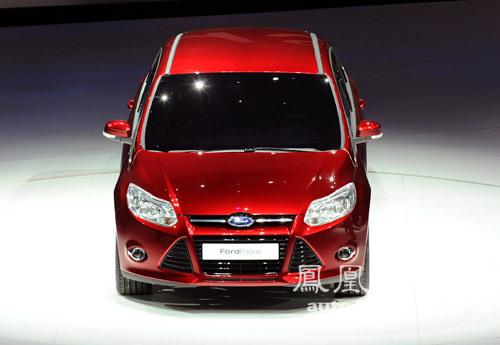 北美车展新车图解:福特全新一代福克斯\(3\)