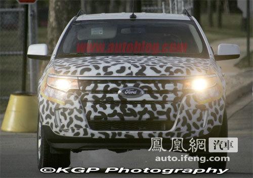搭载EcoBoost发动机 2011款新爱虎曝光\(组图\)