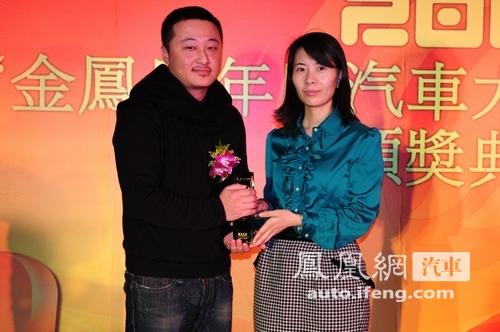 JEEP牧马人获凤凰网2009最佳越野车奖