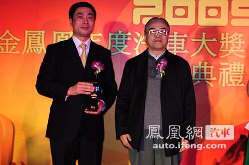 一汽奔腾B50获凤凰网2009最佳性价比车奖