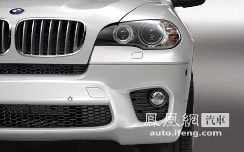 宝马发布X5 M运动套件 将亮相日内瓦车展