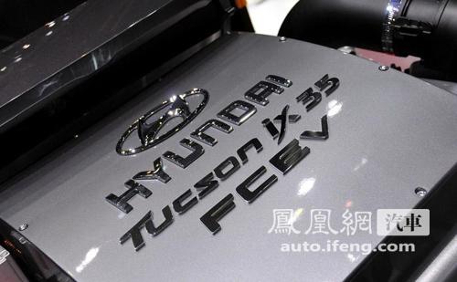 日内瓦车展:现代推出氢燃料电池版途胜