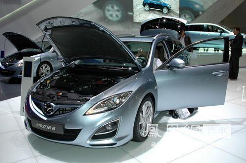 新款马自达6日内瓦车展首发 售价约合18.85万