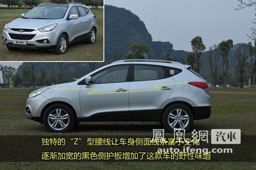 时尚都市小越野 凤凰网汽车试驾现代ix35(2)