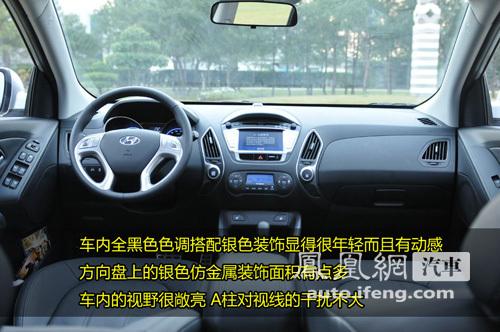 时尚都市小越野 凤凰网汽车试驾现代ix35(5)