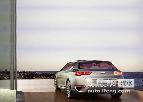 斯巴鲁概念旅行车Hybrid Tourer将亮相北京车展