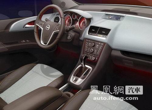 紧凑型MPV欧宝Meriva将于2012年进入国内市场