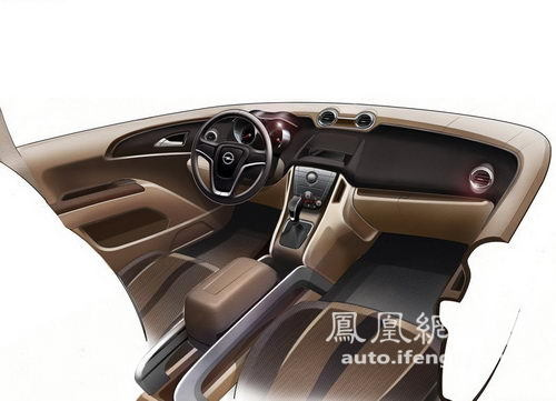 紧凑型MPV欧宝Meriva将于2012年进入国内市场\(3\)