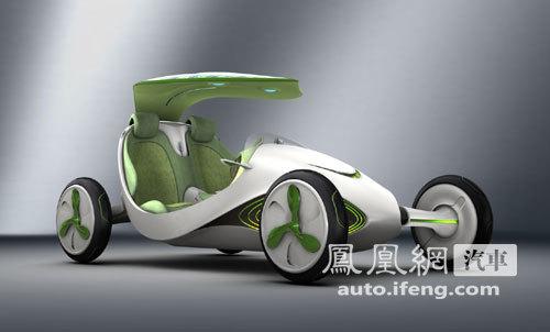 上汽自主概念车叶子全球首发 探索负排放新能源
