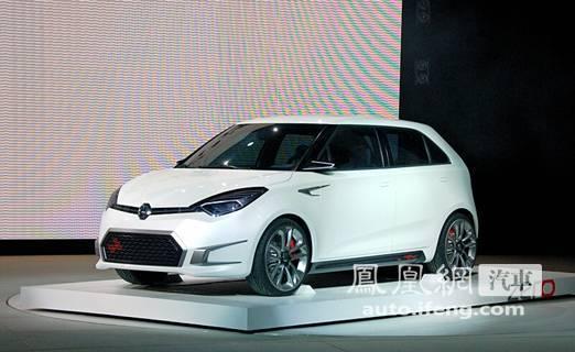 上海汽车发布MG ZERO概念车 见证未来零距离