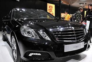 国产新奔驰E北京车展实拍
