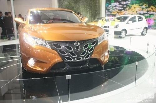 北京车展十一款最具视觉冲击力车型赏析\(6\)