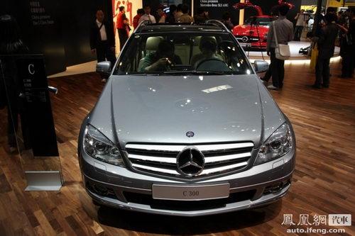 奔驰C级旅行版首次在国内亮相 确定引进中国