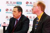 麦格纳动力总成系统全球市场与销售高级副总裁施彼德