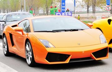 兰博基尼盖拉多LP560-4橙色