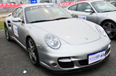 保时捷911 Turbo银色