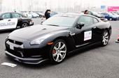 日产GT-R黑色