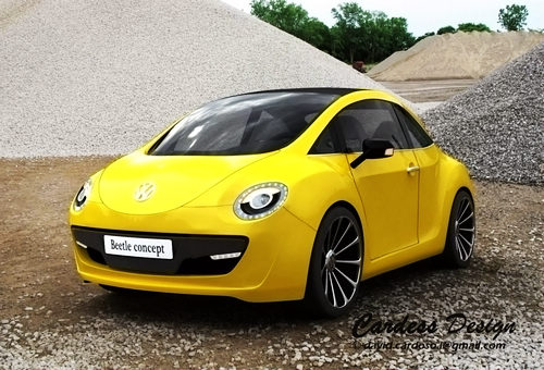 新一代甲壳虫效果图曝光 2011北美车展或将首发