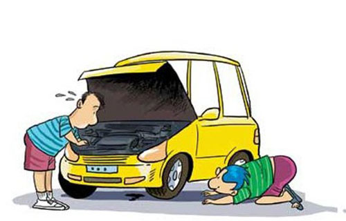 汽车电喷发动机熄火故障浅析 原因及检修高清图片