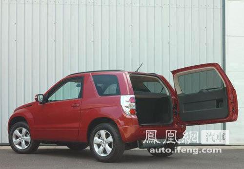 铃木海外发布改款超级维特拉 搭载柴油发动机高清图片
