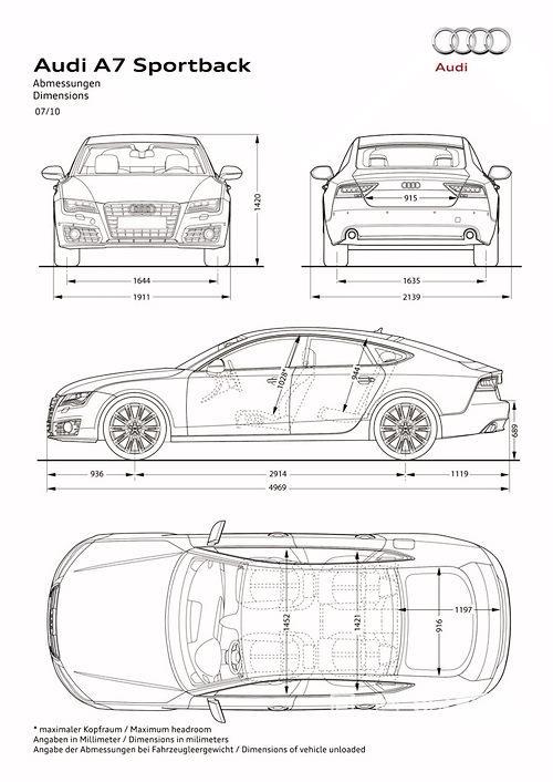奥迪发布全新2011款奥迪A7 2011年秋季引入国内