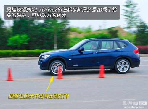 凤凰网汽车测试宝马X1 只照顾驾驶者的感受(5)