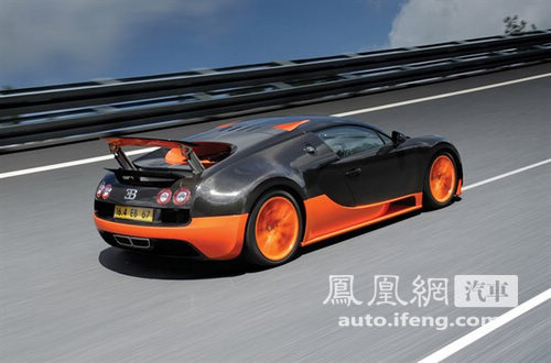 布加迪发布威航16.4 Super Sport 最快量产车