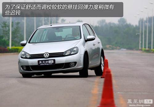 凤凰网汽车测试一汽-大众高尔夫6 不止为代步(4)