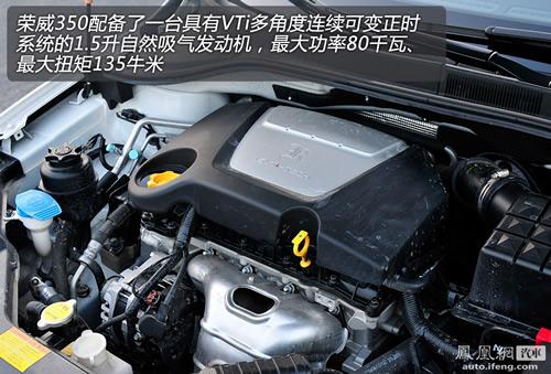 凤凰网汽车测试荣威350 1.5AT 日系小车范儿