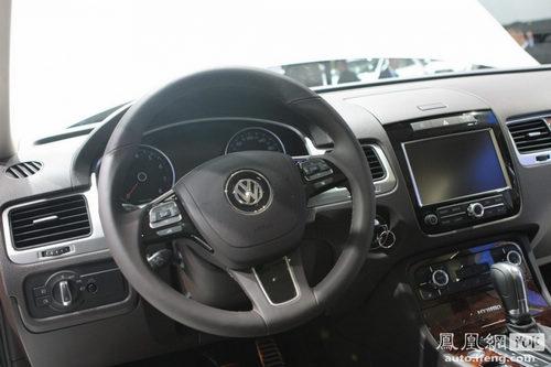 高性能版途锐R搭载混动系统 2011北美车展首发
