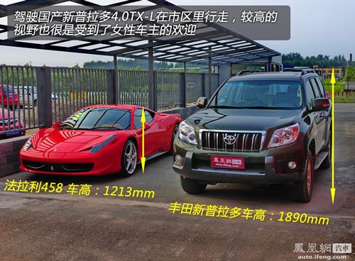 [凤凰测]评测一汽丰田新普拉多4.0 真正的硬汉(9)