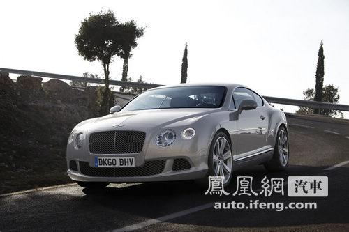 2011款宾利欧陆GT官图发布 外观/内饰改动不大