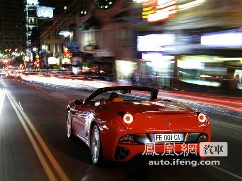 法拉利推绿色环保版California 巴黎车展将亮相