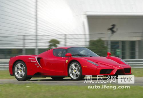 2012年发布 法拉利王者Enzo用混合动力