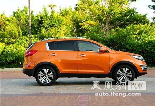 起亚全新SUV智跑10月20日上市 预售16.38万起高清图片