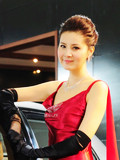 恰似你的温柔 南京车展最具亲和力车模