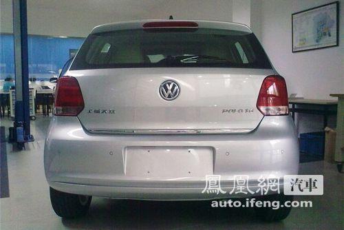 上海大众全新改款POLO无伪装曝光 预计12月上市
