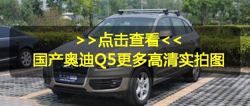 混动版奥迪Q5即将登陆洛杉矶车展 续航里程仅3km