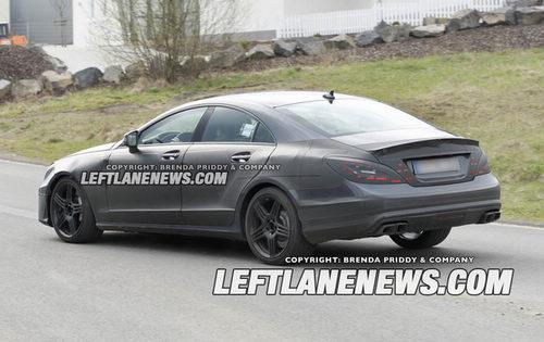 新一代奔驰CLS63 AMG谍照曝光 洛杉矶车展将首发