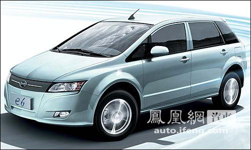 比亚迪E6改款车明年4月上市 搭载电池组将瘦身