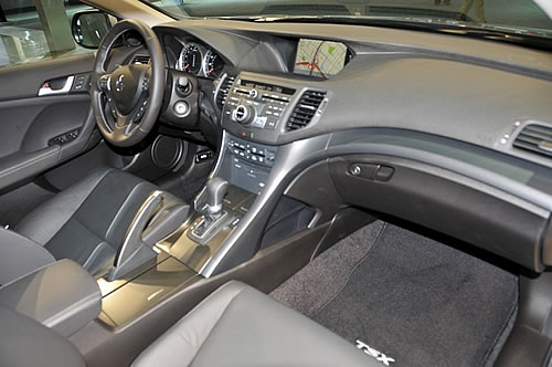 [洛杉矶车展]2011款讴歌TSX发布 细微升级