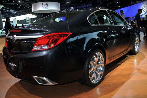 [洛杉矶车展]2012款别克君威GS发布 高性能版